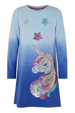 Monsoon Callie Unicorn Sweat Dress