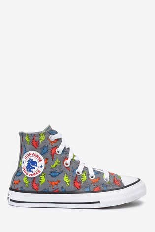 Converse Youth Dinosaur High Trainers
