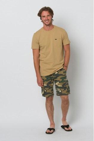 Animal Camo Mazo Walk Shorts