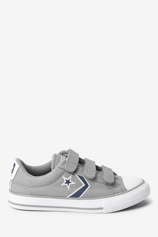 junior converse velcro