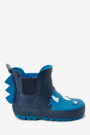 Blue Monster Chelsea Boot Wellies (Younger)
