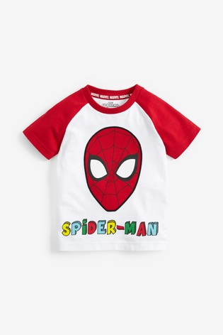 White Spider-Man™ Raglan T-Shirt (3mths-8yrs)