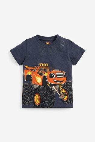 Charcoal Blaze T-Shirt (12mths-8yrs)