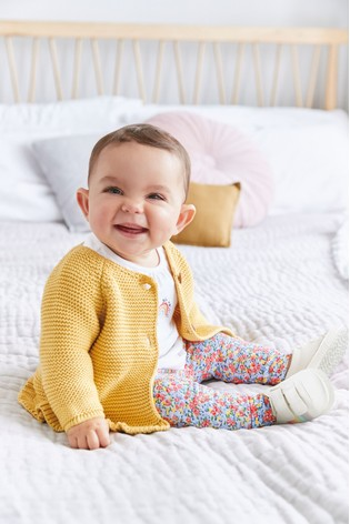 Multi 2 Piece Floral Embroidery Set (0mths-2yrs)