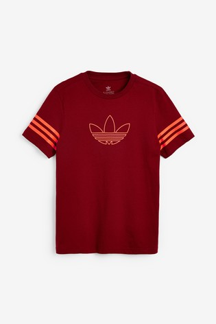 adidas Originals Burgundy SPRT T-Shirt