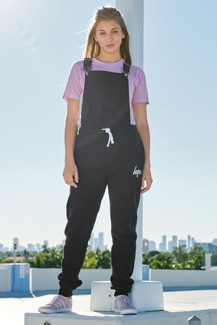 Hype. Jersey Dungaree Jumpsuit