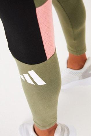 adidas Khaki Lock Up Leggings