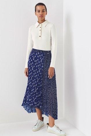 Next/Mix Printed Pleat Skirt