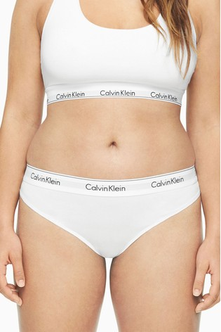 Calvin Klein White Modern Cotton Plus