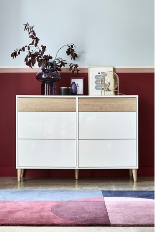 Louis 6 Drawer Wide Chest