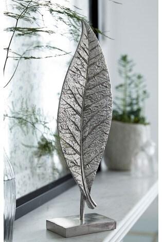 Silver Leaf Sculpture