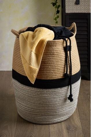 Woven Laundry Bag
