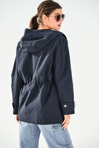 Navy Shower Resistant Jacket