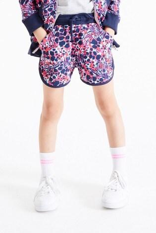 Multi Print Jersey Shorts (3-16yrs)