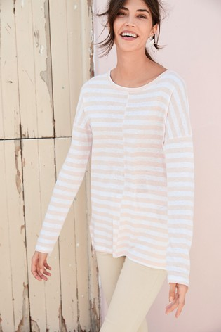 Peach Stripe Tunic