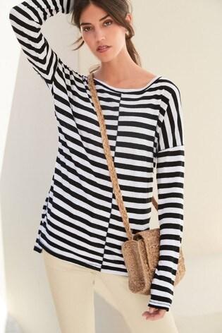 Monochrome Stripe Tunic