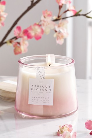 Apricot Blossom Lidded Jar Candle