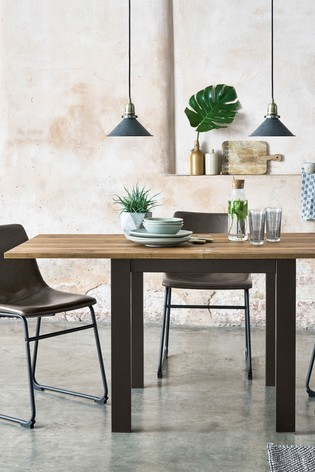 Bronx 4-6 Seater Square To Rectangle Dining Table
