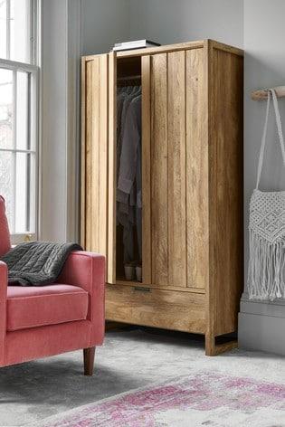 Ohara Double Wardrobe