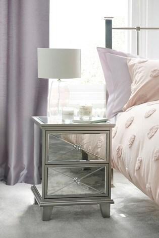 Florence 2 Drawer Bedside Table