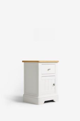 Hampton Storage 1 Drawer Bedside Table