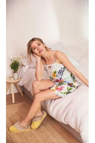 Floral Cotton Textured Short Set