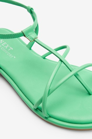 Green Forever Comfort® Strappy Sandals