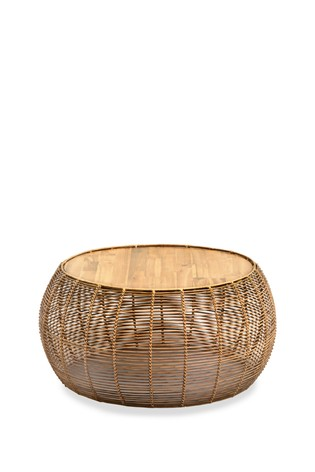 Woven Coffee Table