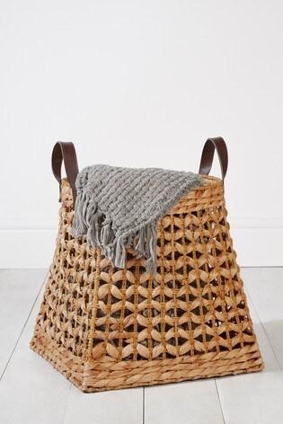 Plaited Storage Basket