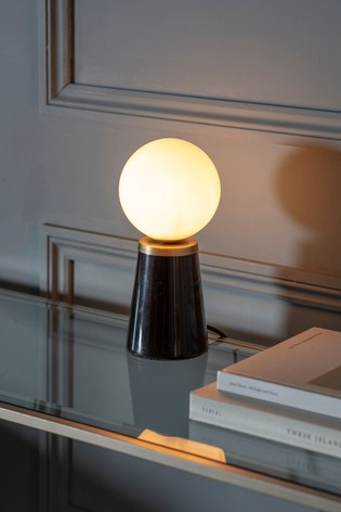 Polder Marble Table Lamp by Gallery Direct