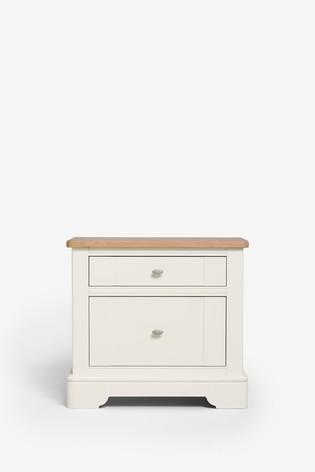 Hampton Wide Bedside Table