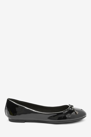 Black Regular/Wide Fit Forever Comfort™ Ballerina Shoes