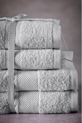 Dove Grey Essential Towel Bale