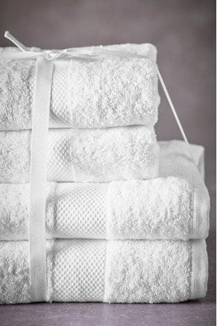 White Essential Towel Bale