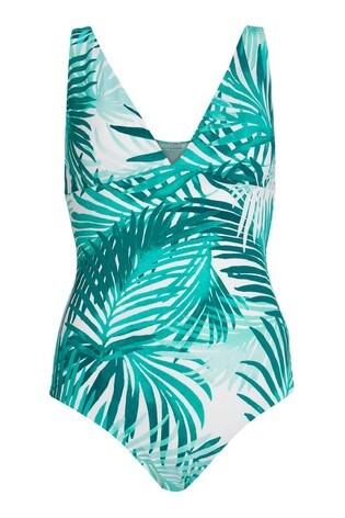 Mint Velvet Plunge Swimsuit