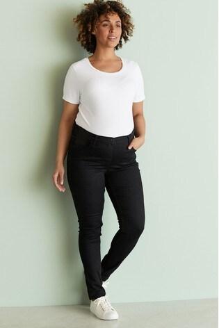 White Maternity Jersey T-Shirt