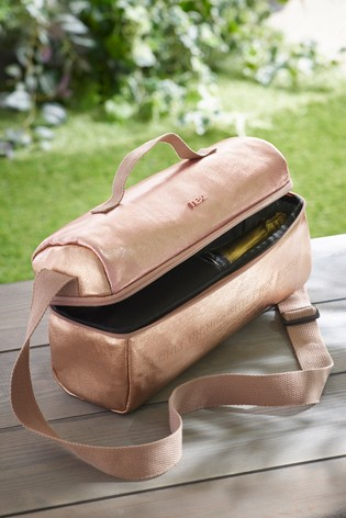 Rose Gold Insulated Bottle Bag