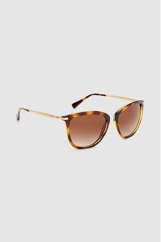 Ralph by Ralph Lauren Tortoiseshell Effect Gold Arm Sunglasses