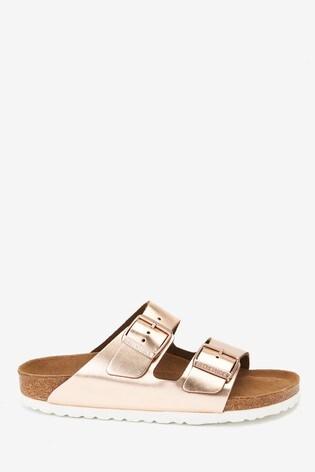 Birkenstock® Metallic Arizona Sandals