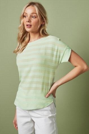 Mint Stripe T-Shirt