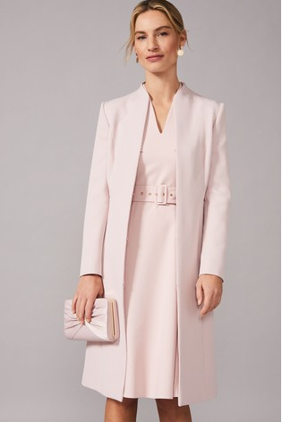 Phase Eight Pink Myra Coat