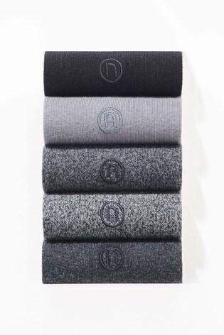 Grey Socks Five Pack