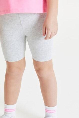 Grey Marl Cycle Shorts (3-16yrs)