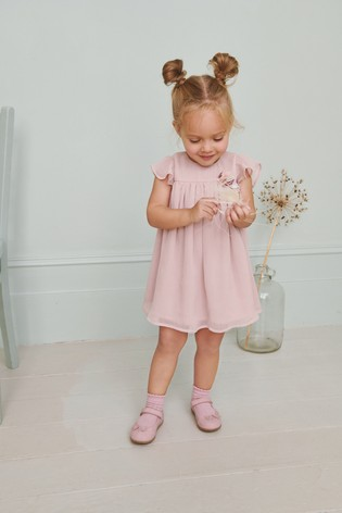 Pink Corsage Dress (3mths-7yrs)