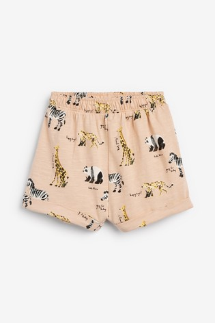 Rust/Peach 5 Pack Boxy Shorts (3mths-8yrs)