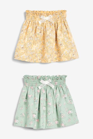 Floral 2 Pack Skirts (3mths-7yrs)