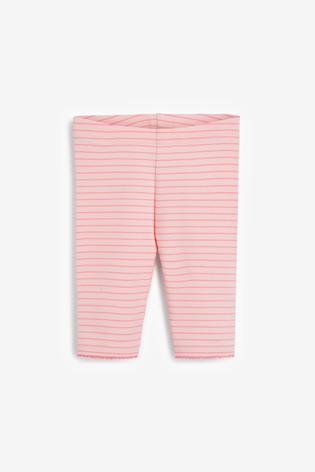 Pink Cropped Leggings (3mths-7yrs)