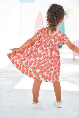 M/ädchen Regenbogen-Kleid aus Jersey next Baby