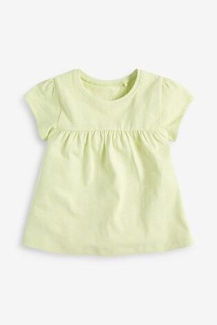 Lime GOTS Organic Cotton T-Shirt (3mths-7yrs)