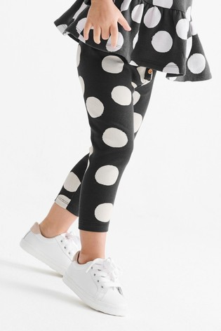 Black/White Leggings (3mths-7yrs)